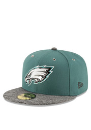 Philadelphia New Era Mens Green 2016 On Stage Draft 59FIFTY Fitted Hat