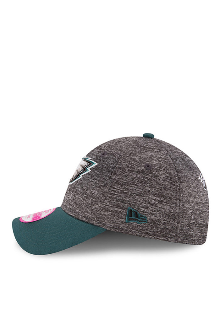 New Era Philadelphia Eagles Midnight Green 2016 Draft W 9FORTY Womens Adjustable Hat - Image 4