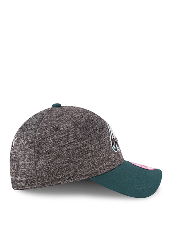 New Era Philadelphia Eagles Midnight Green 2016 Draft W 9FORTY Womens Adjustable Hat - Image 6
