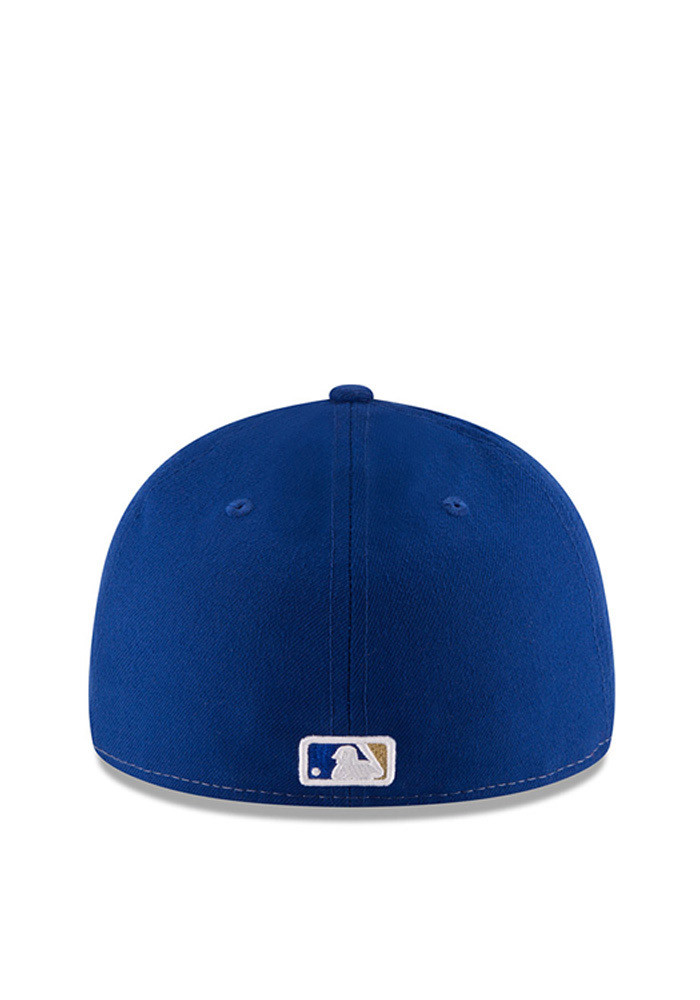 New Era Kansas City Royals Mens Blue Front N Center Low Crown 59FIFTY Fitted Hat - Image 5