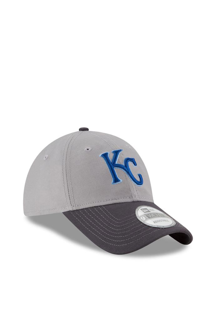New Era Kansas City Royals Mens Grey Core Shore 9TWENTY Adjustable Hat - Image 2