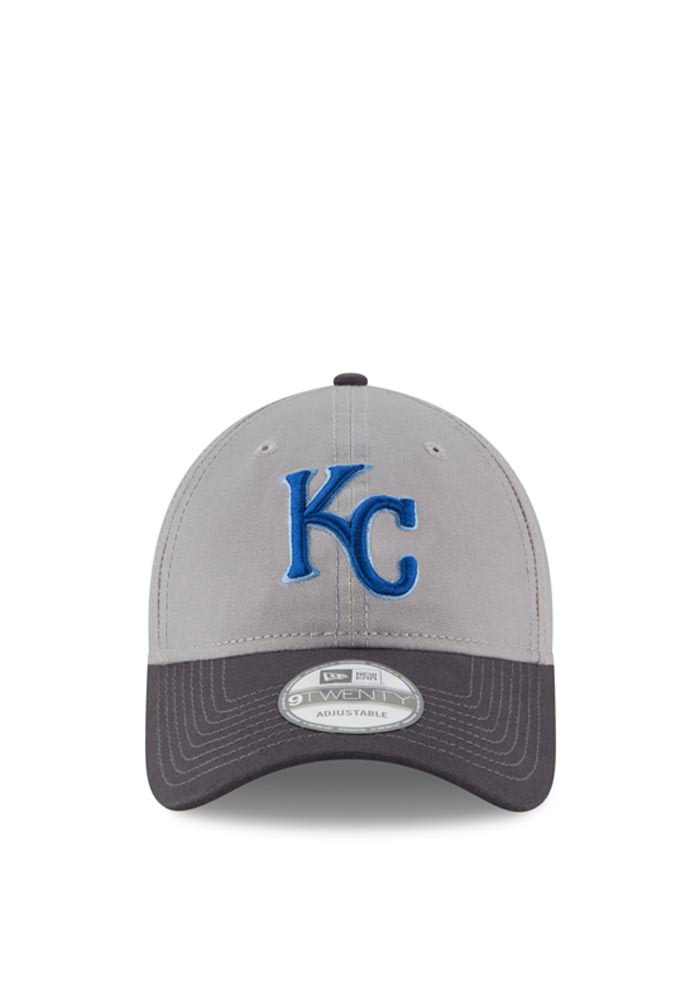 New Era Kansas City Royals Mens Grey Core Shore 9TWENTY Adjustable Hat - Image 3