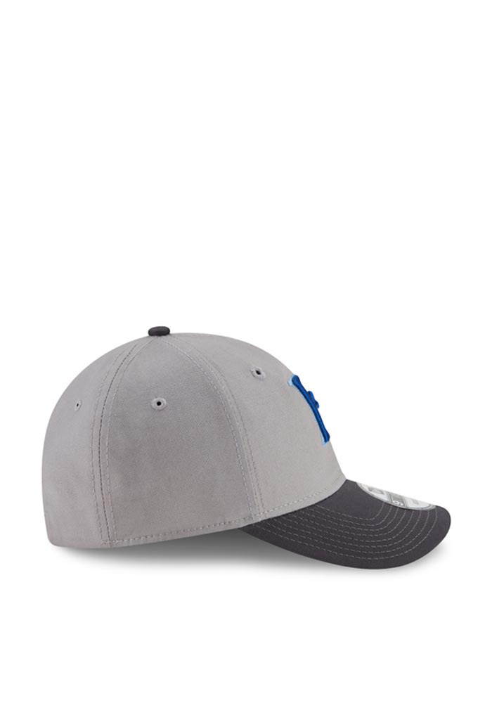 New Era Kansas City Royals Mens Grey Core Shore 9TWENTY Adjustable Hat - Image 6