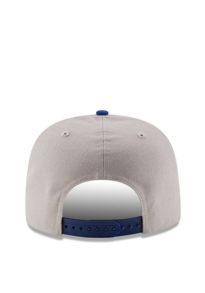 New Era Kansas City Royals Grey Logo Grand Redux 9FIFTY Mens Snapback Hat - Image 5