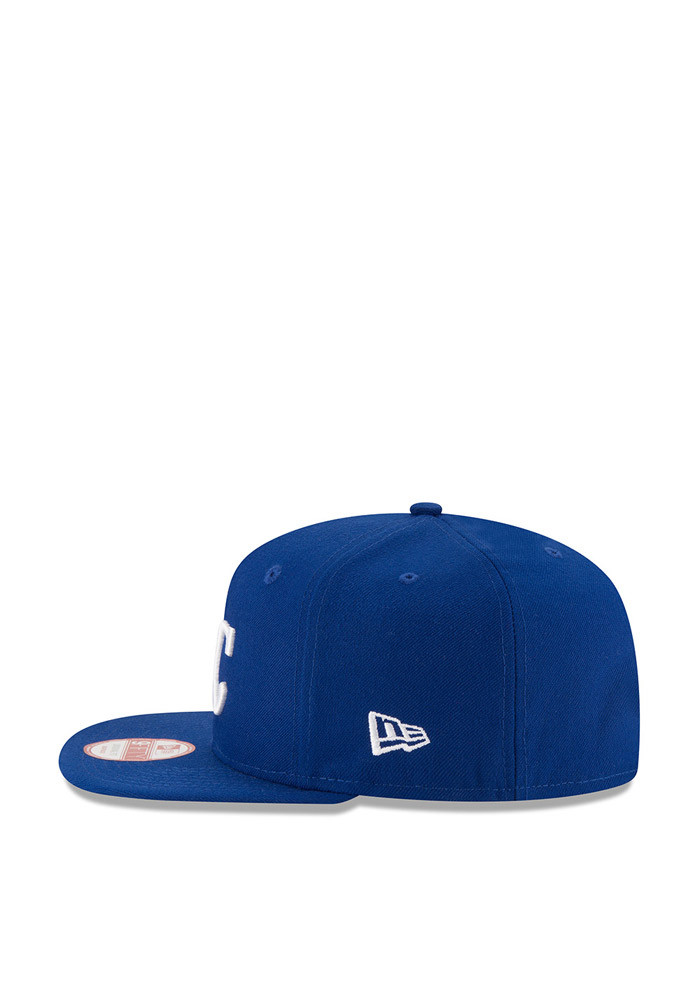 New Era Kansas City Royals Blue Flag Side 95FIFTY Mens Snapback Hat - Image 4