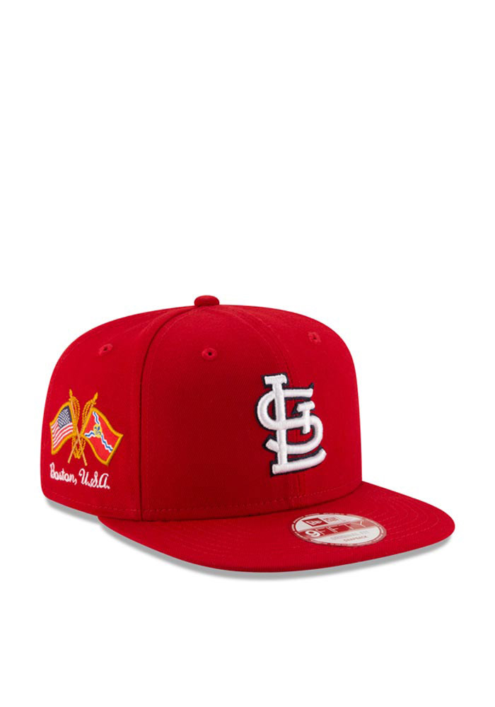 New Era St Louis Cardinals Red Hometown Class 9FIFTY Mens Snapback Hat - Image 1