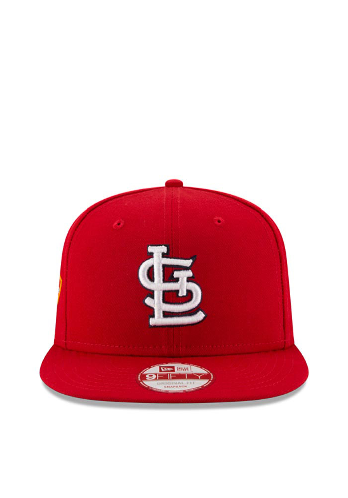 New Era St Louis Cardinals Red Hometown Class 9FIFTY Mens Snapback Hat - Image 2