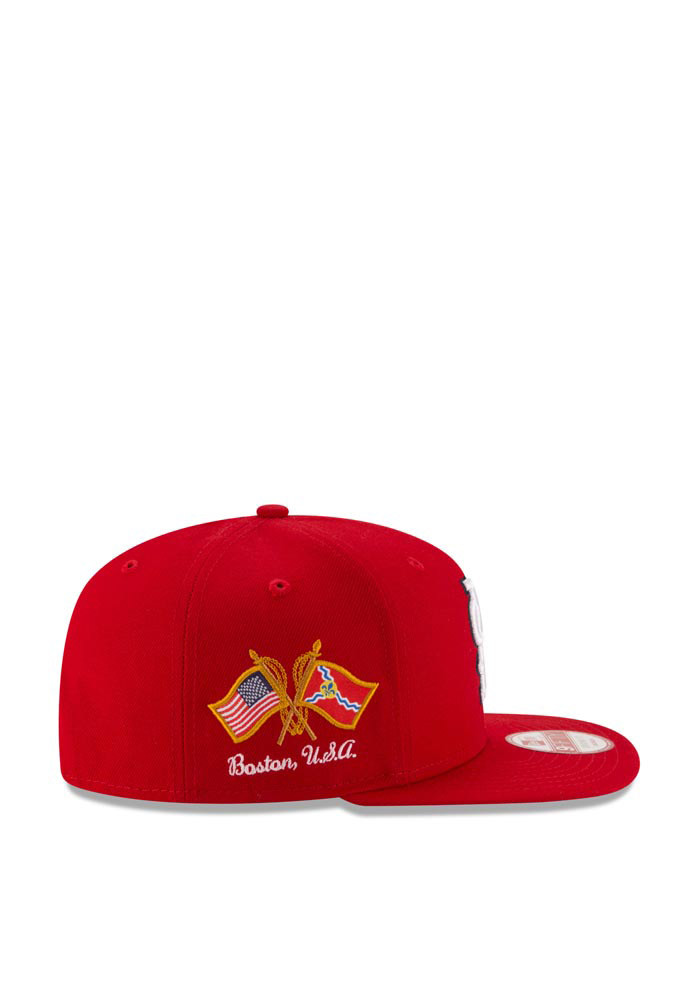New Era St Louis Cardinals Red Hometown Class 9FIFTY Mens Snapback Hat - Image 4