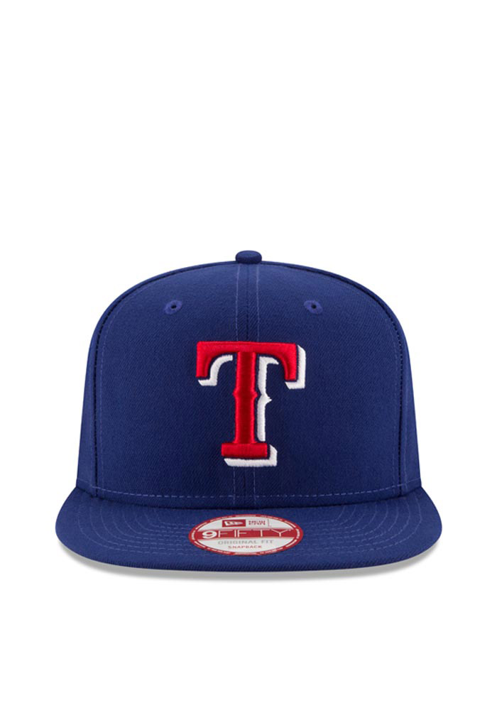 New Era Texas Rangers Blue Hometown Class 9FIFTY Mens Snapback Hat - Image 2