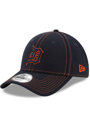 New Era Detroit Tigers Mens Navy Blue League Classic 9FORTY Adjustable Hat