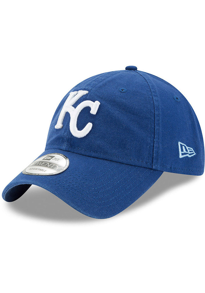 Kansas City Royals Blue Jr Core Classic Primary 9FORTY Youth Adjustable Hat - Image 1