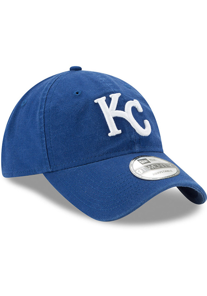Kansas City Royals Blue Jr Core Classic Primary 9FORTY Youth Adjustable Hat - Image 2