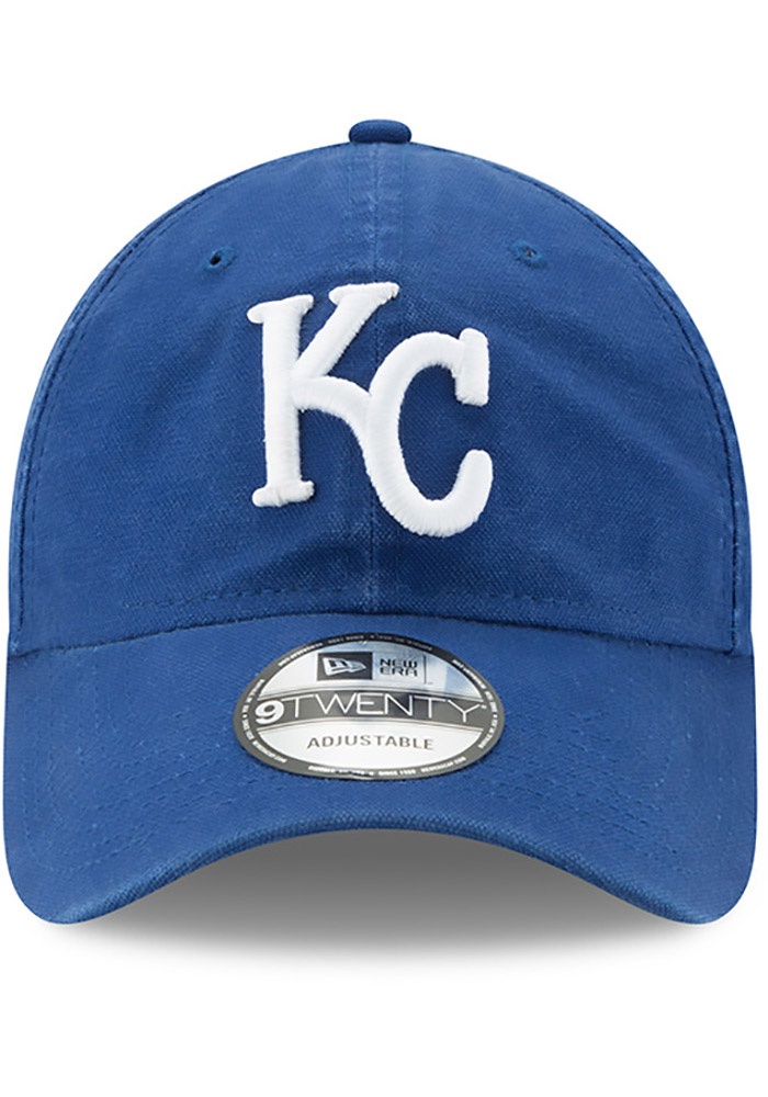 Kansas City Royals Blue Jr Core Classic Primary 9FORTY Youth Adjustable Hat - Image 3