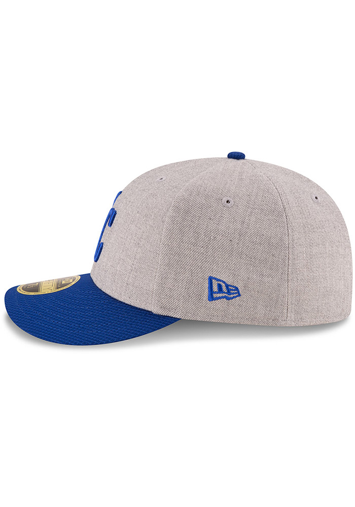 New Era Kansas City Royals Mens Grey Change Up Redux 59FIFTY Fitted Hat - Image 4