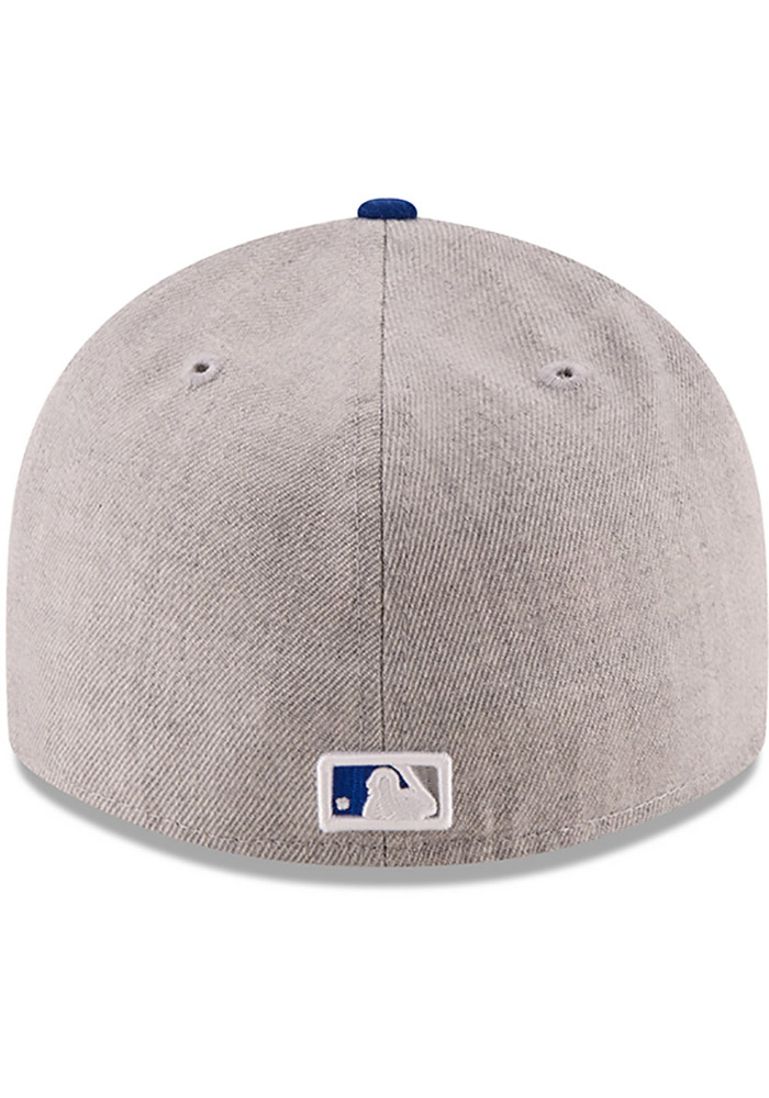New Era Kansas City Royals Mens Grey Change Up Redux 59FIFTY Fitted Hat - Image 5