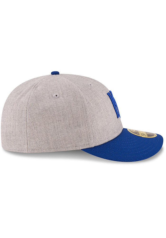 New Era Kansas City Royals Mens Grey Change Up Redux 59FIFTY Fitted Hat - Image 6