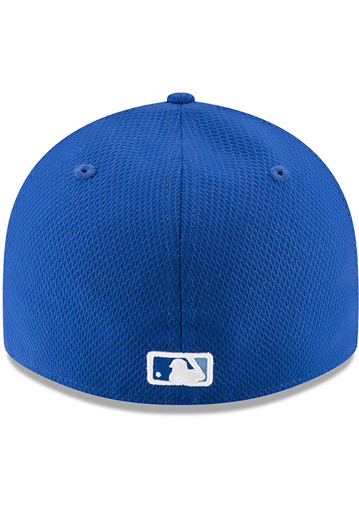 New Era Kansas City Royals Mens Blue Bevel Team 59FIFTY Fitted Hat - Image 5