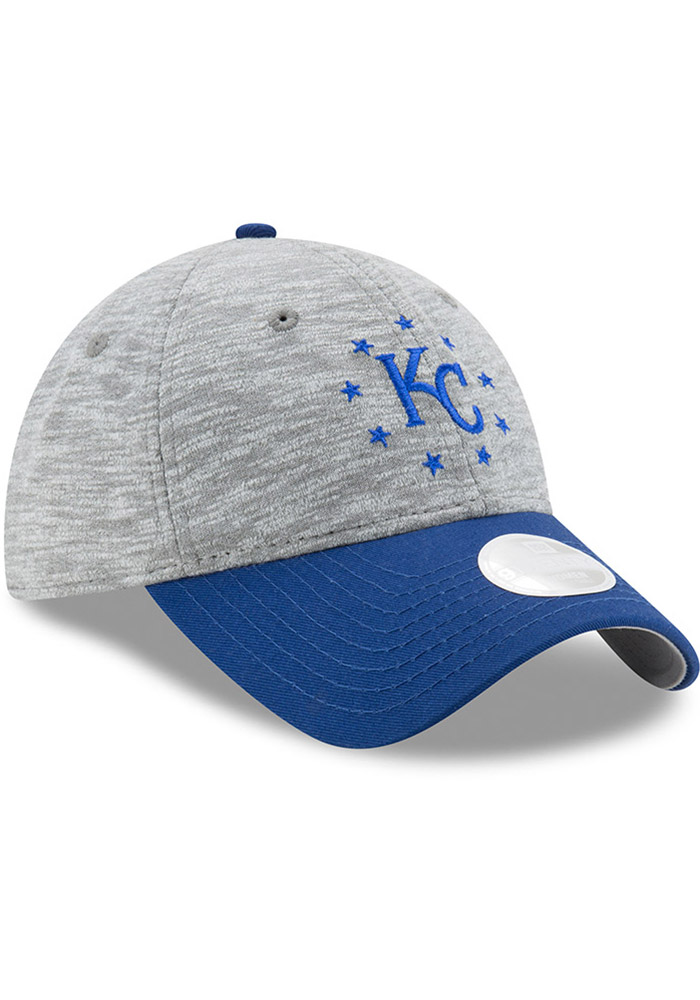 New Era Kansas City Royals Grey Cloud Crown Womens Adjustable Hat - Image 2