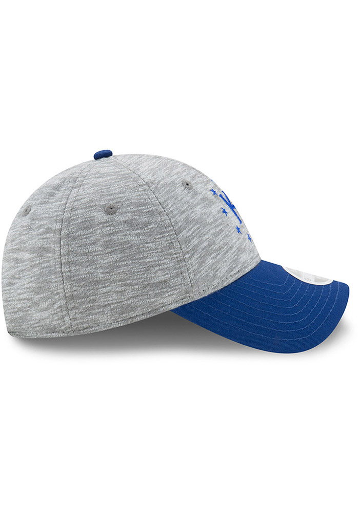 New Era Kansas City Royals Grey Cloud Crown Womens Adjustable Hat - Image 6