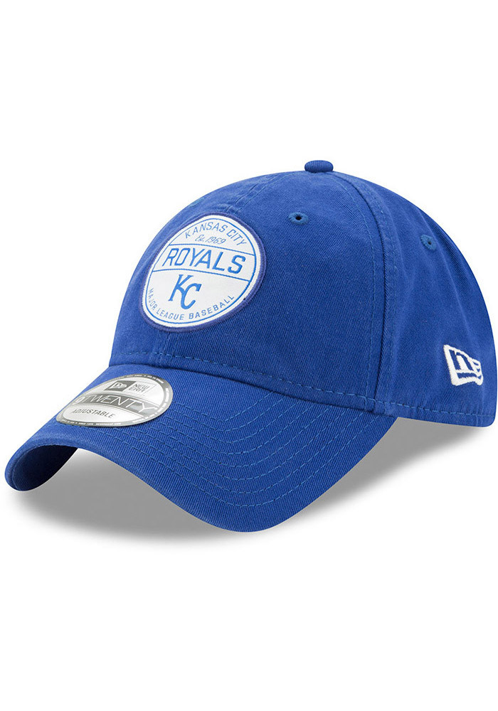 New Era Kansas City Royals Blue Core Standard 9TWENTY Adjustable Toddler Hat - Image 1