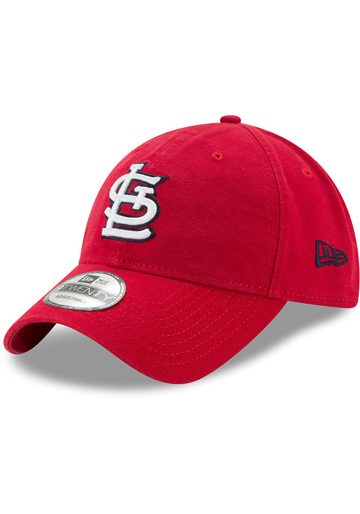 St Louis Cardinals Red Jr Core Classic Primary 9FORTY Youth Adjustable Hat - Image 1