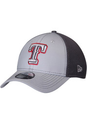 Texas Rangers Grey Jr Grayed Out Neo 39THIRTY Youth Flex Hat