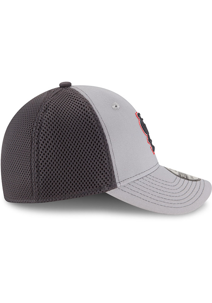 St Louis Cardinals Grey Jr Grayed Out Neo 39THIRTY Youth Flex Hat - Image 6