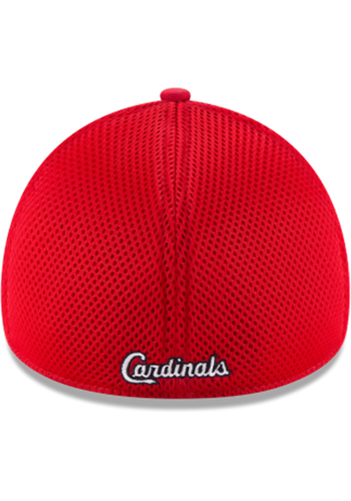 St Louis Cardinals Red Jr Mega Team Neo 39THIRTY Youth Flex Hat - Image 2