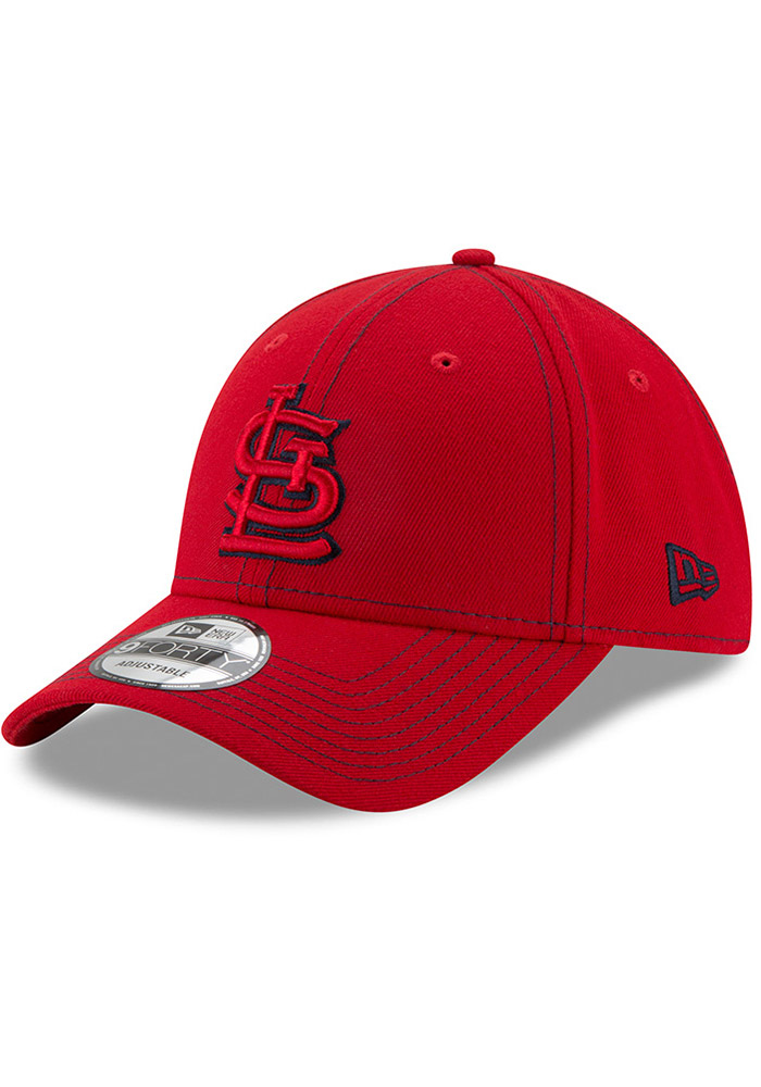 New Era St Louis Cardinals League Classic 9FORTY Adjustable Hat - Red - Image 1