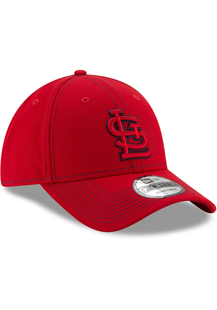 New Era St Louis Cardinals League Classic 9FORTY Adjustable Hat - Red - Image 2