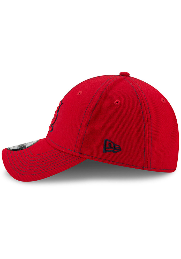 New Era St Louis Cardinals League Classic 9FORTY Adjustable Hat - Red - Image 4