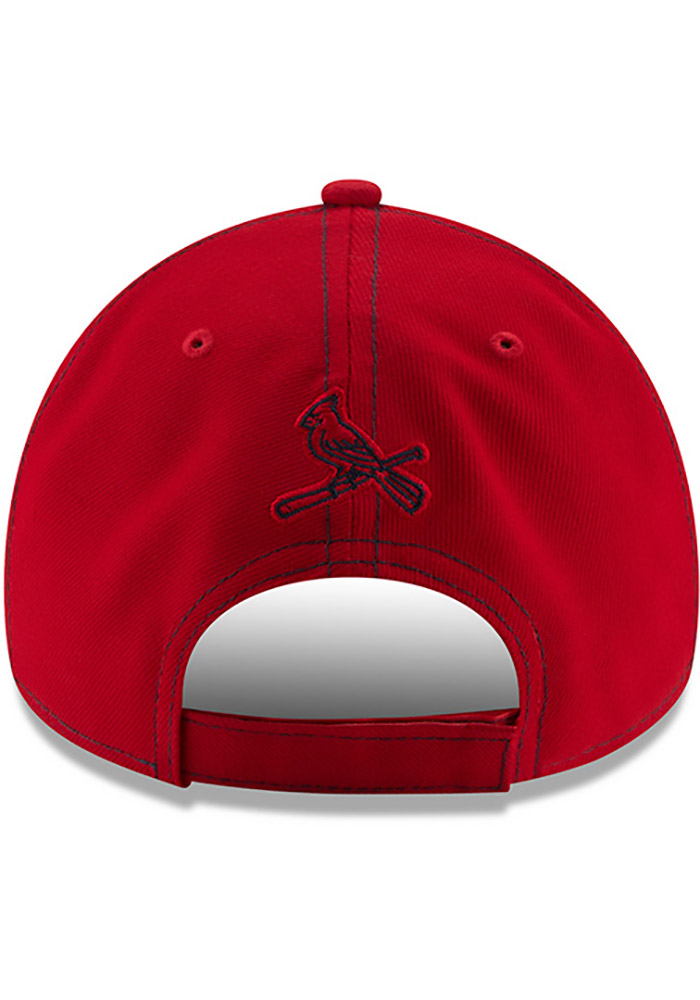 New Era St Louis Cardinals League Classic 9FORTY Adjustable Hat - Red - Image 5