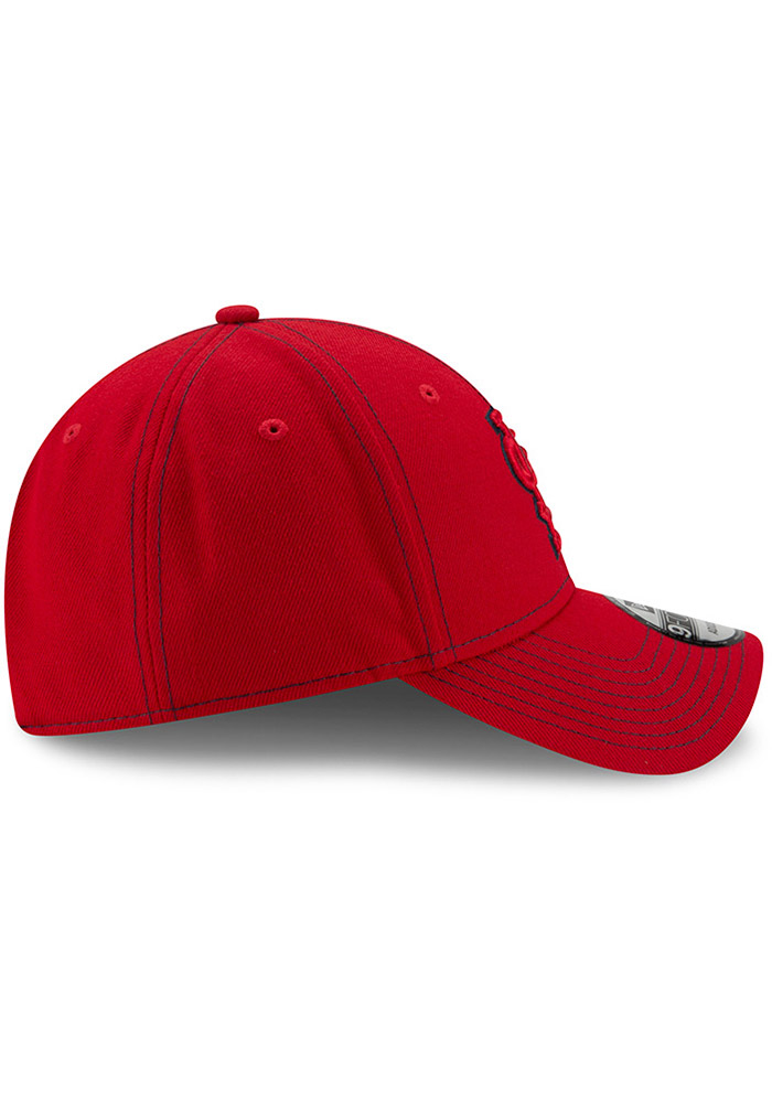 New Era St Louis Cardinals League Classic 9FORTY Adjustable Hat - Red - Image 6