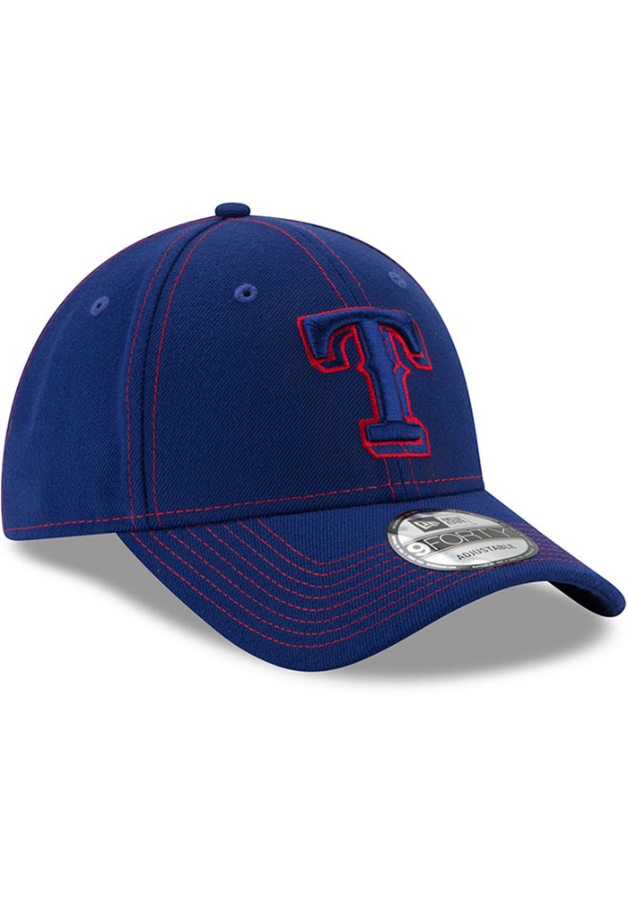New Era Texas Rangers League Classic 9FORTY Adjustable Hat - Blue - Image 2