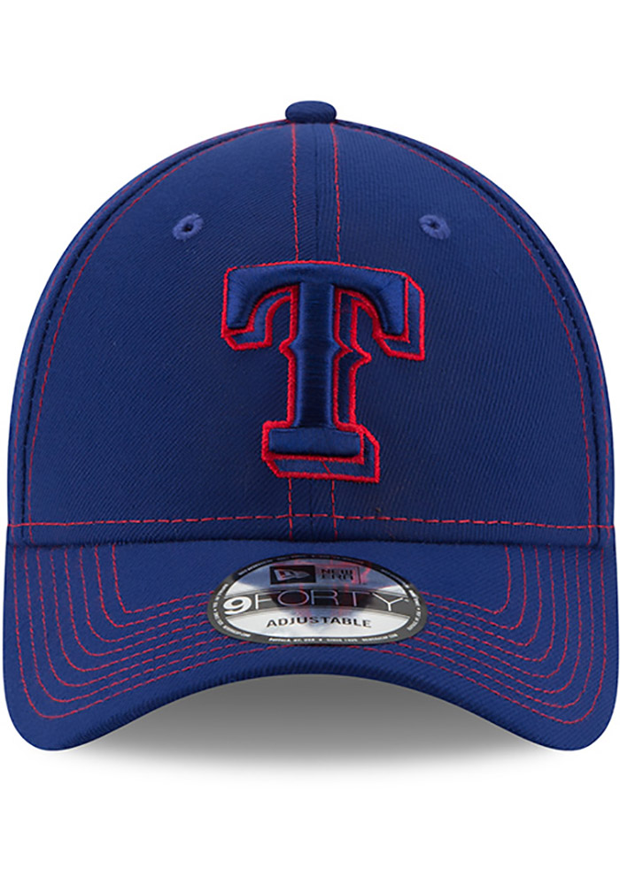 New Era Texas Rangers League Classic 9FORTY Adjustable Hat - Blue - Image 3