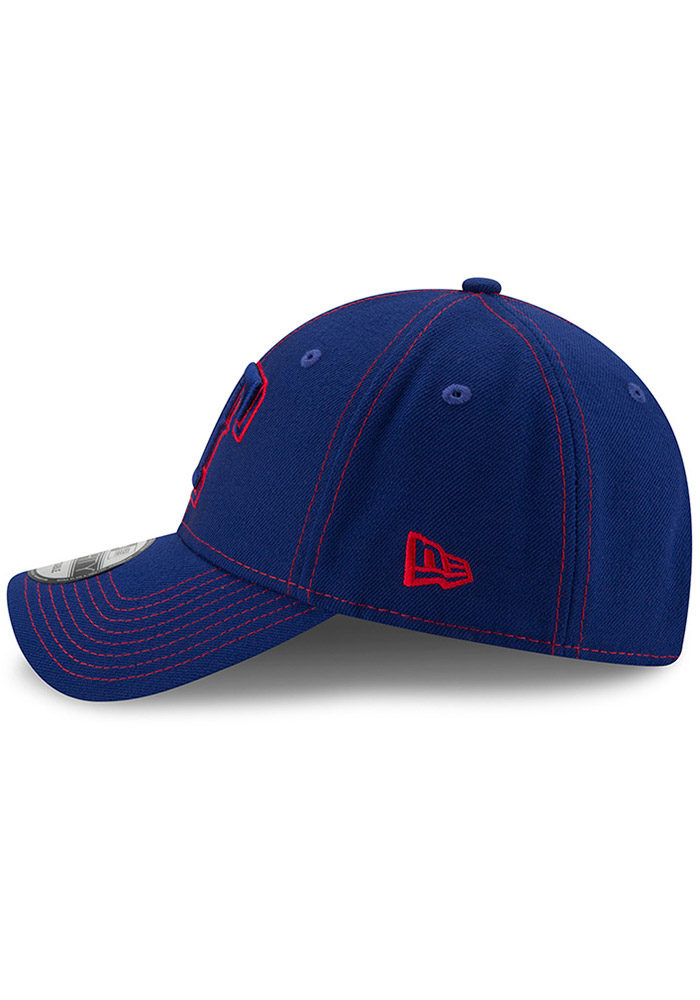 New Era Texas Rangers League Classic 9FORTY Adjustable Hat - Blue - Image 4