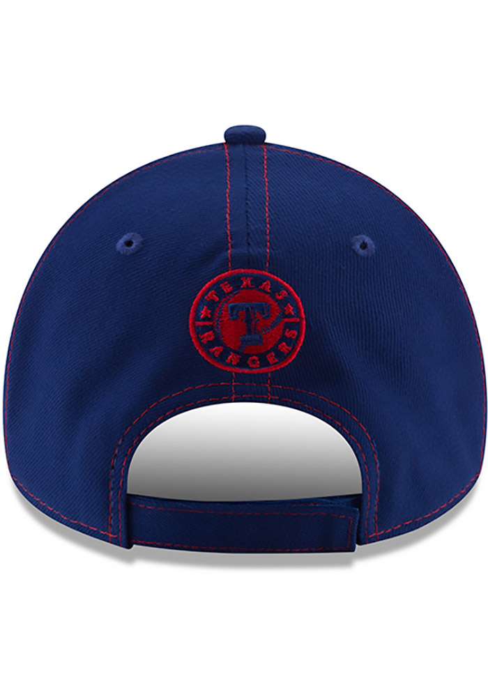 New Era Texas Rangers League Classic 9FORTY Adjustable Hat - Blue - Image 5