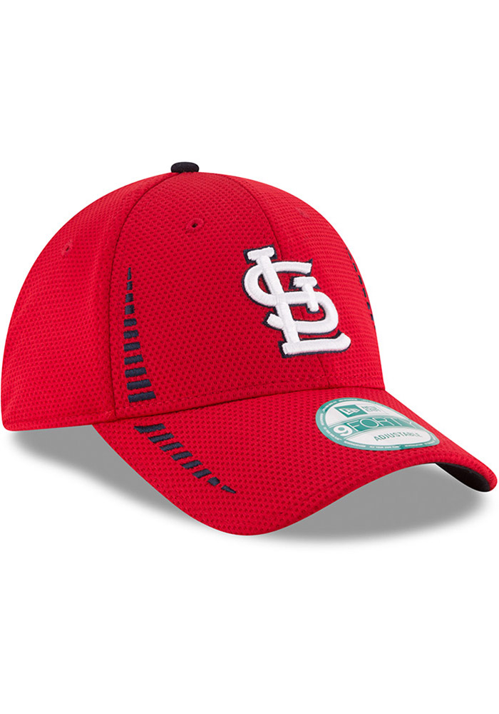 New Era St Louis Cardinals NE Speed 9FORTY Adjustable Hat - Red - Image 2