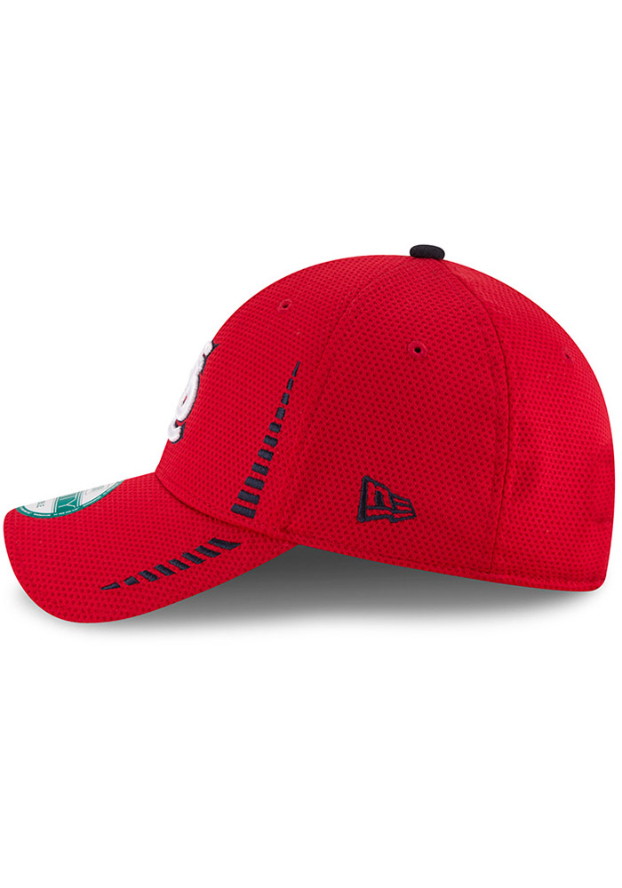 New Era St Louis Cardinals NE Speed 9FORTY Adjustable Hat - Red - Image 4