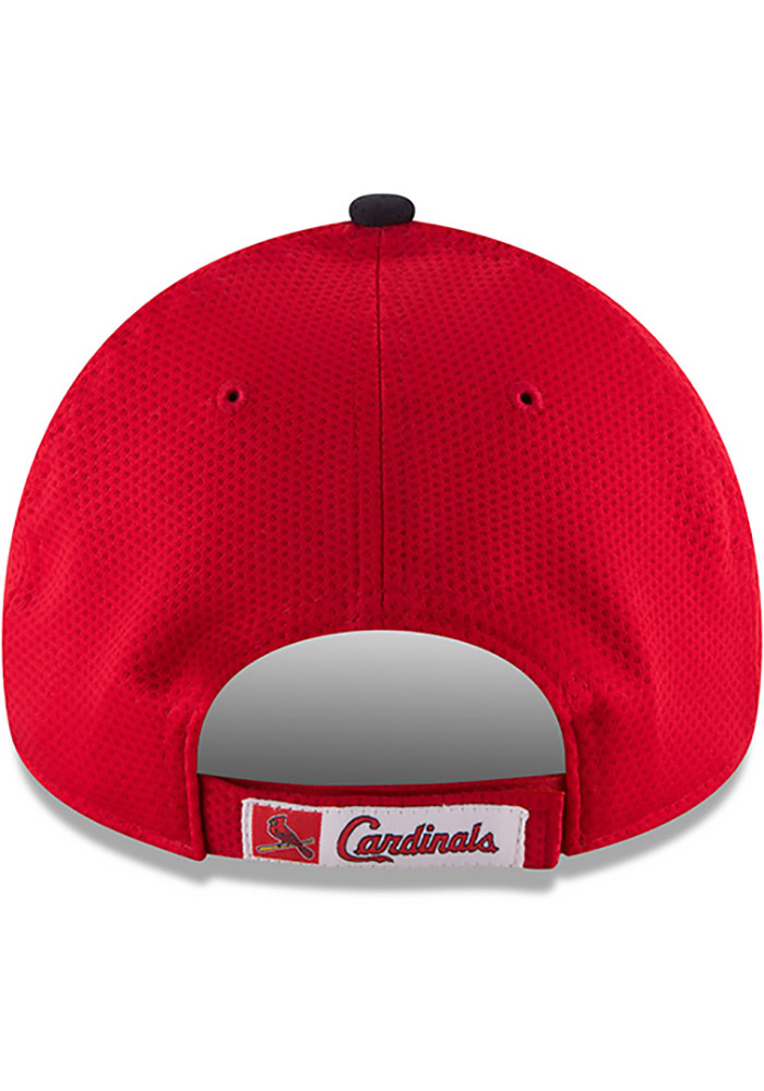 New Era St Louis Cardinals NE Speed 9FORTY Adjustable Hat - Red - Image 5
