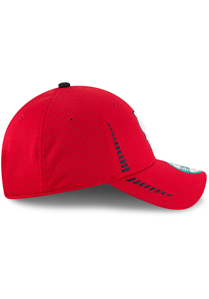 New Era St Louis Cardinals NE Speed 9FORTY Adjustable Hat - Red - Image 6