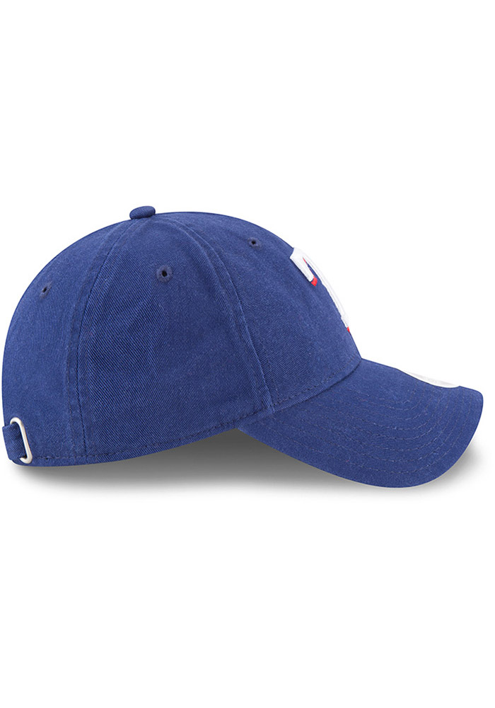 New Era Texas Rangers Blue Preferred Pick Womens Adjustable Hat - Image 3