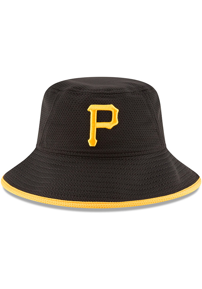 hot new products top brands many fashionable New Era Pittsburgh Pirates Black Team 3 Mens Bucket Hat - 5902822