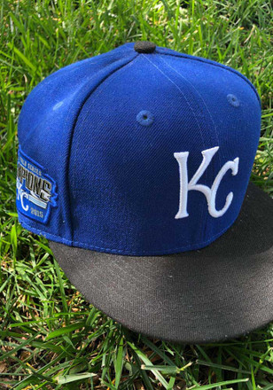 New Era KC Royals Blue Victory Side 9FIFTY Snapback Hat