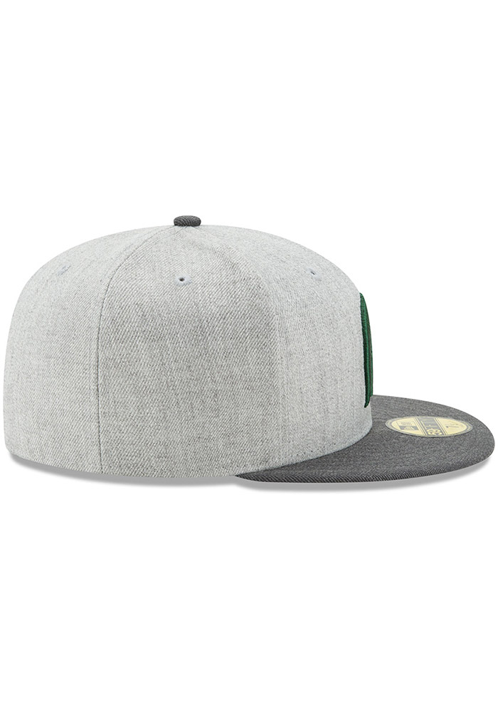 brand new df197 17167 New Era Michigan State Spartans Mens Grey Heather Action 59FIFTY Fitted Hat  - Image 6