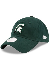 the latest 8d981 ca8d1 New Era Michigan State Spartans Womens Green Team Glisten Adjustable Hat