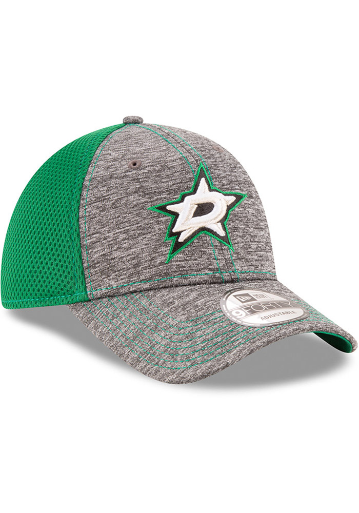 New Era Dallas Stars Shadow Turn 9FORTY Adjustable Hat - Grey - Image 2