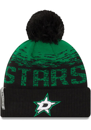 New Era Dallas Stars Green NE16 Sport Knit Hat