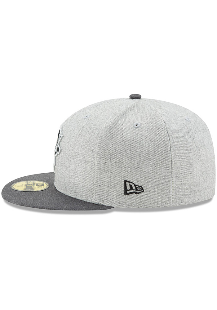 buy best lowest price new cheap New Era Pittsburgh Penguins Mens Grey Heather Action 59FIFTY ...