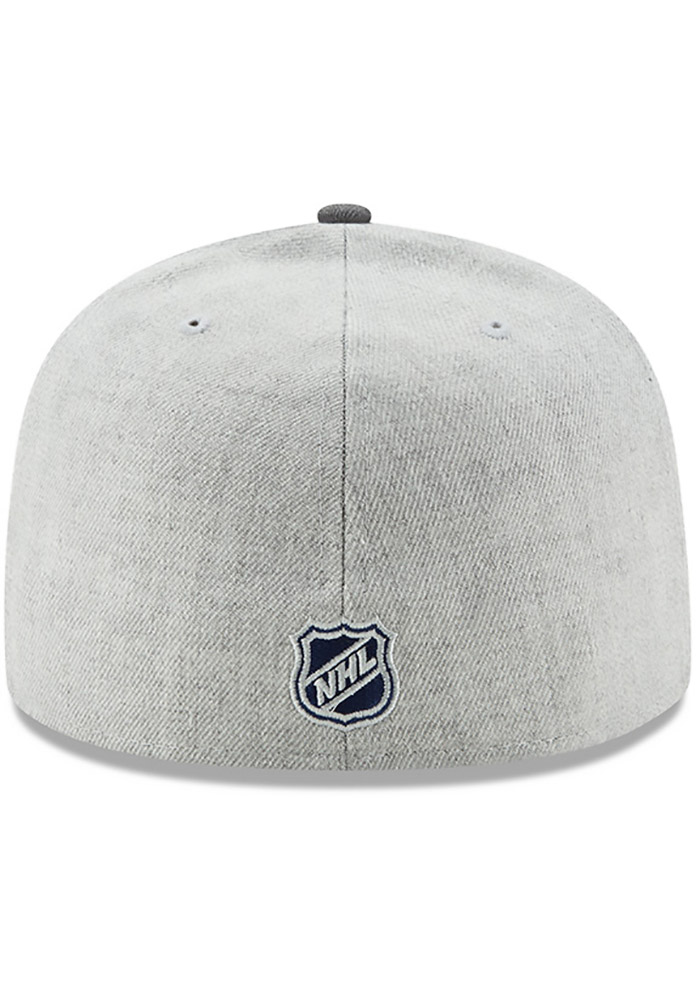 New Era St Louis Blues Mens Grey Heather Action 59FIFTY Fitted Hat - Image 5